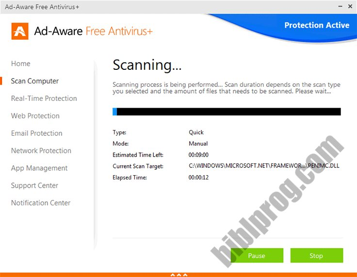 Screenshot Ad-Aware Free Antivirus+