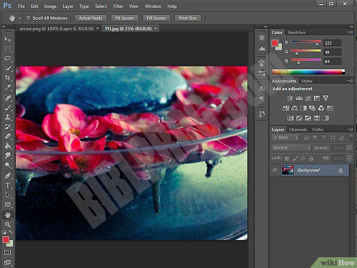 Screenshot Adobe Photoshop