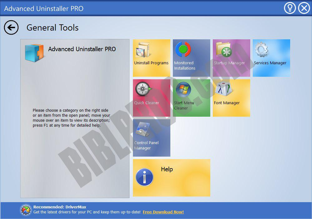 Screenshot Advanced Uninstaller Pro
