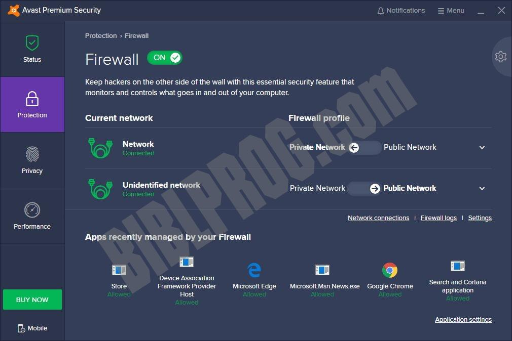 Screenshot Avast Premium Security