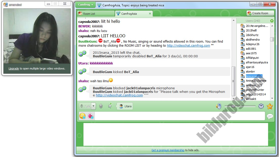 Screenshot Camfrog Video Chat