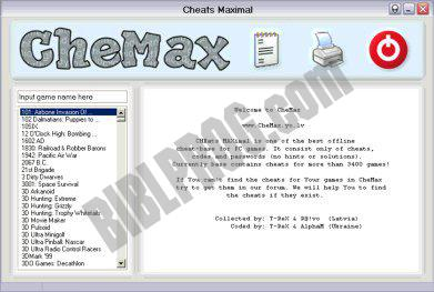 Screenshot CheMax