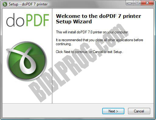 Screenshot doPDF