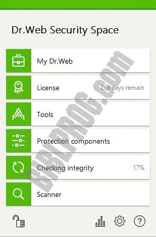 Dr.Web Anti-virus Screenshot