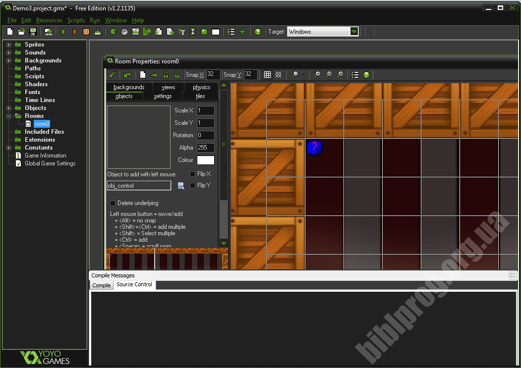 Screenshot GameMaker: Studio