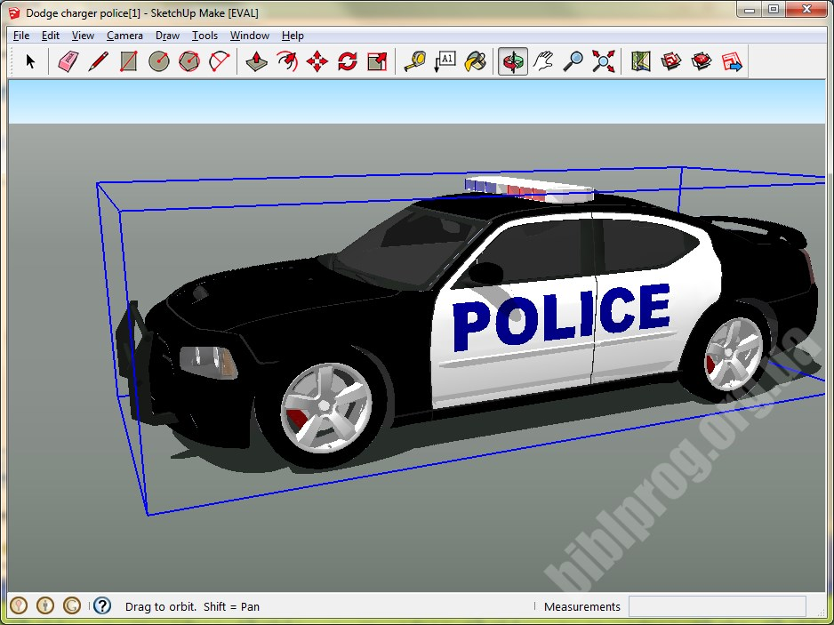 Screenshot SketchUp Make