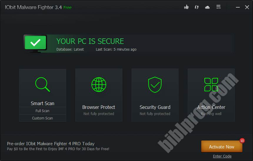 IObit Malware Fighter Screenshot