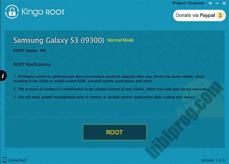 Screenshot Kingo ROOT