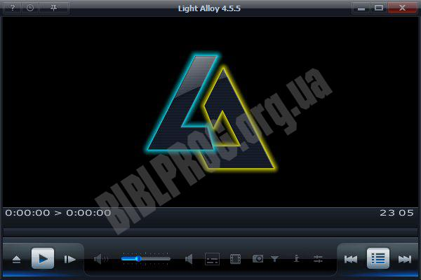 Screenshot Light Alloy