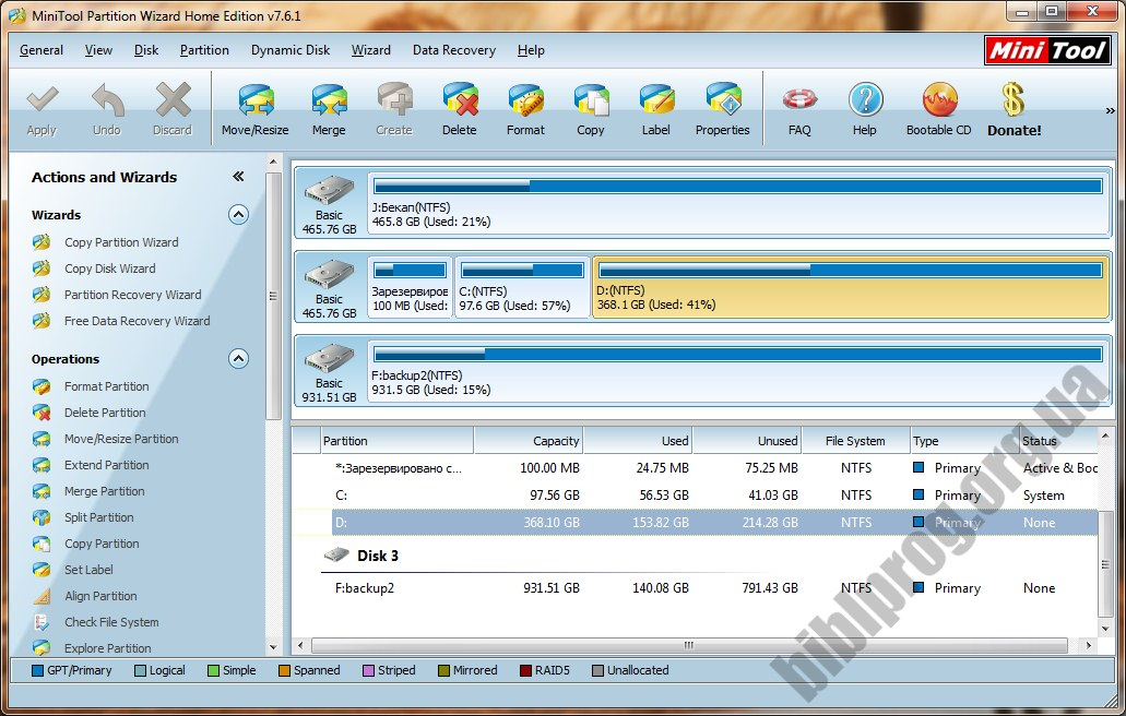 Download Software Minitool Partition Wizard