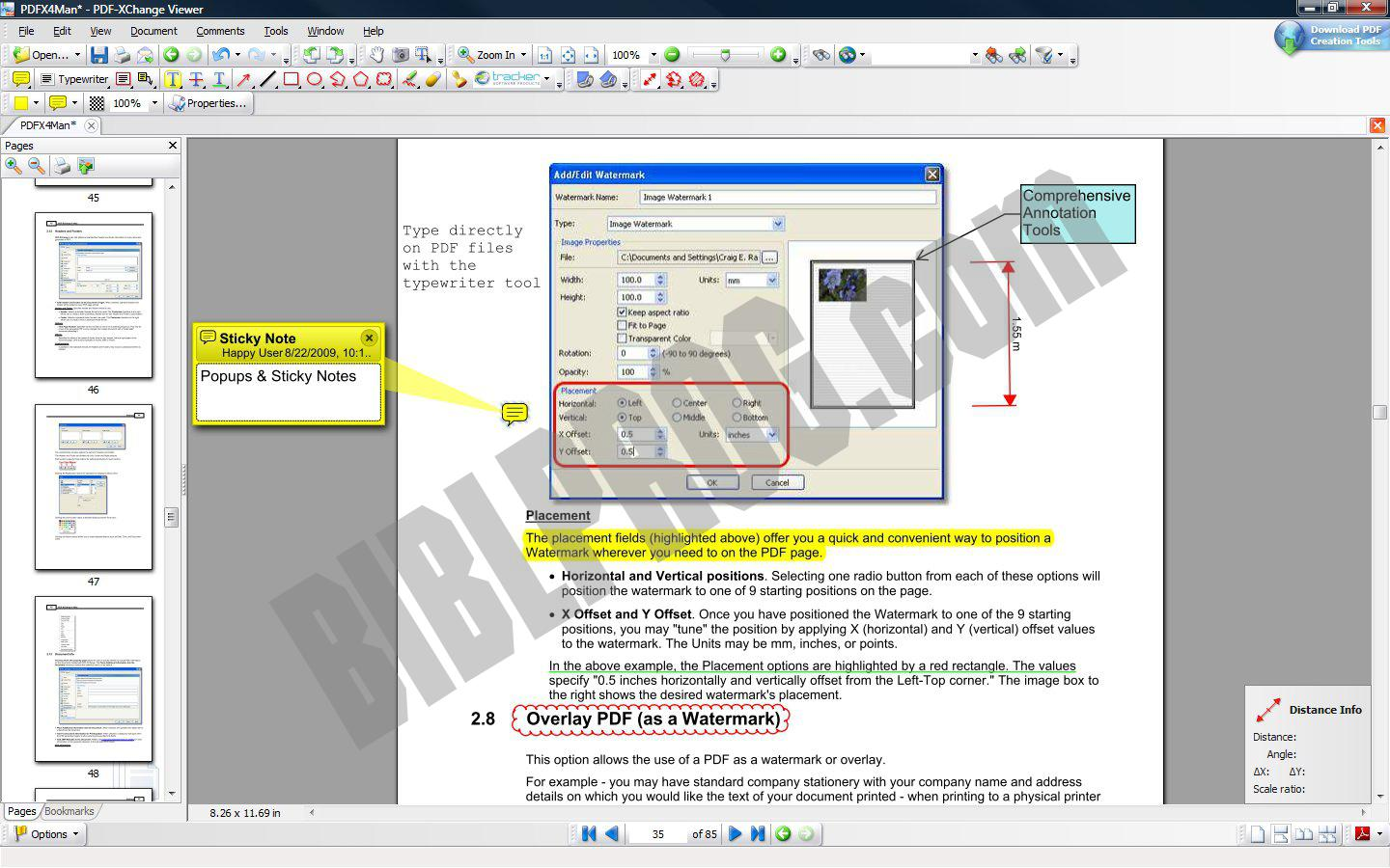 Screenshot PDF-XChange Viewer
