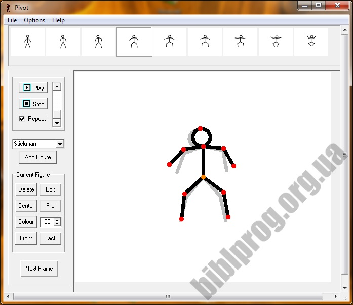 Screenshot Pivot Animator
