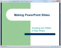 Microsoft Office PowerPoint Viewer