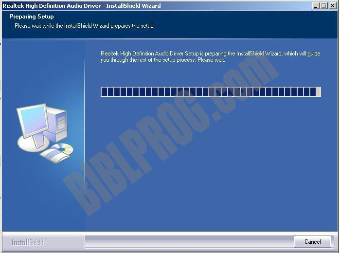Screenshot Realtek AC97 Audio Driver