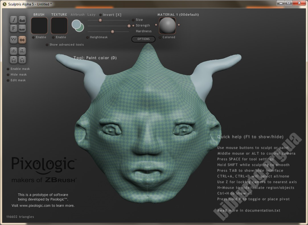 Sculptris free download - BiblProg com