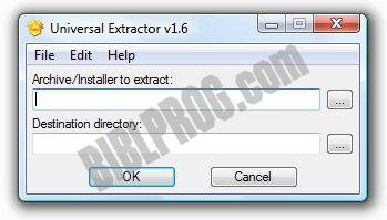 Screenshot Universal Extractor