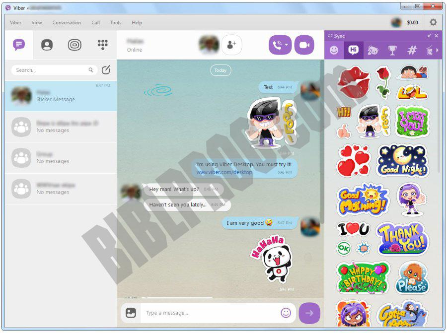 Screenshot Viber