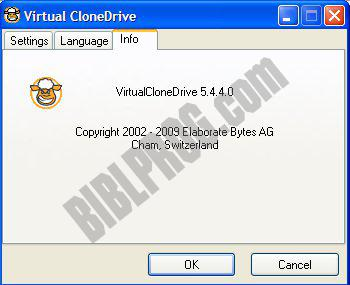 Screenshot Virtual CloneDrive