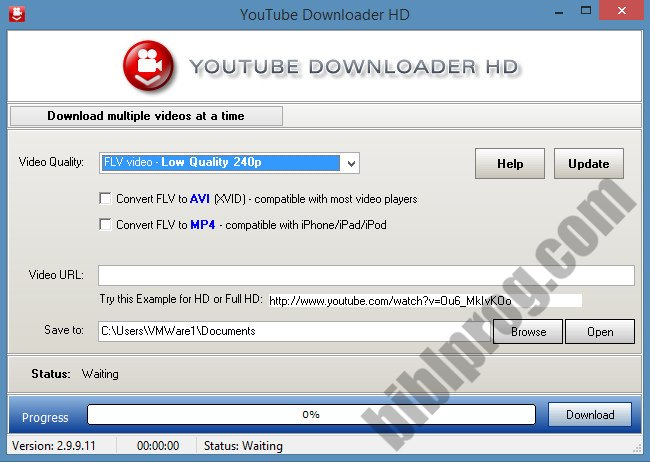 Screenshot YouTube Downloader HD